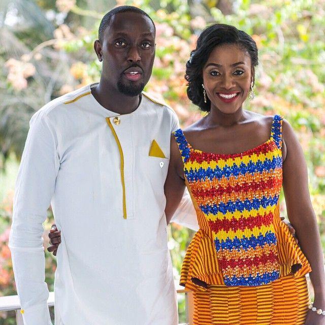 I Do Ghana | Bride: Modesta | Photos: Steven Adusei Photography | Mua: Valerie Lawson | Event styling: Mahogany Events by Debra Jane | Dress: Pistis | Kente Bride