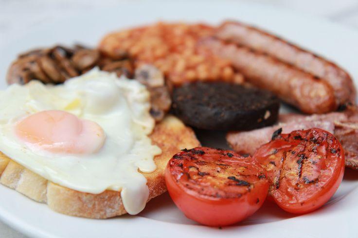 FULL Tetbury breakfast at Cafe 53