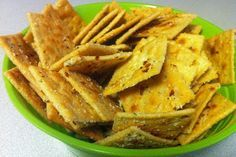 "Savory Party Crackers -- copycat version of ""The Original Savory Saltine Seasoning"""