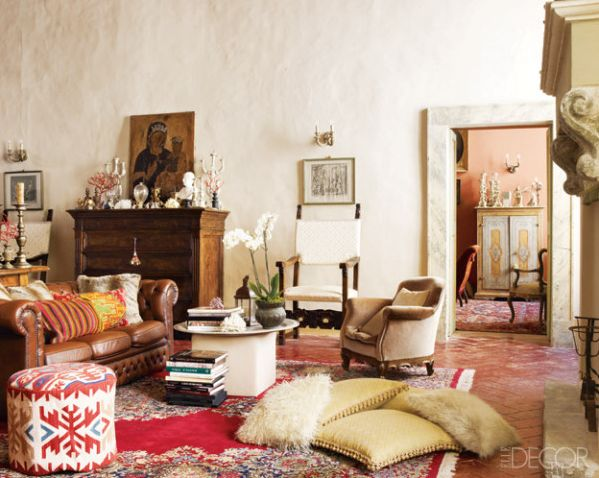 A Southwestern Style Living Room Perhaps?