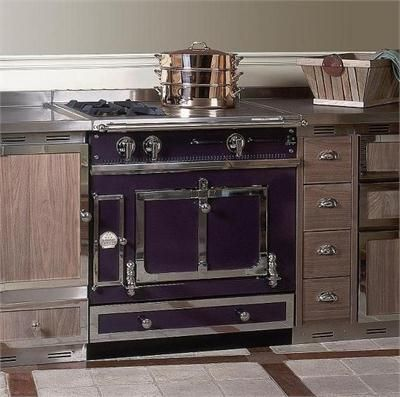 Le chateau 75 from la cornue purple appliances - Piano de cuisine la cornue ...