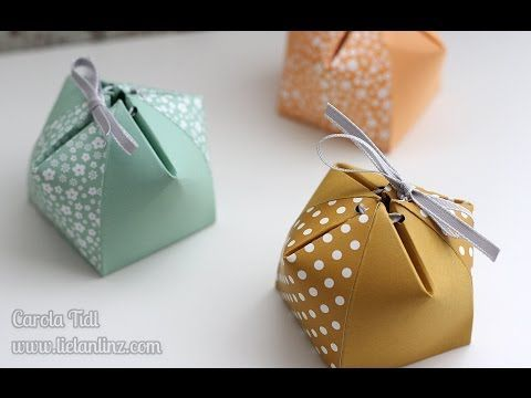 Tutorial: Goodies-Tütchen mit dem Envelope Punchboard (EPB) - YouTube