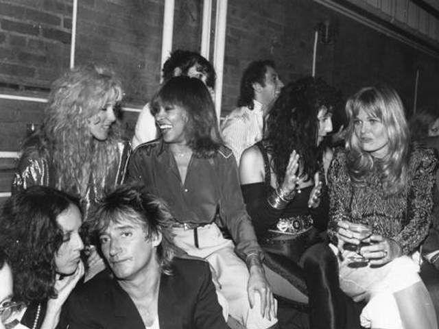 Studio 54. Rod. Tina. Cher.