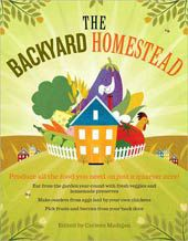 The Backyard Homestead--- a book about living off your land. I loved it! I want to purchase my own copy.