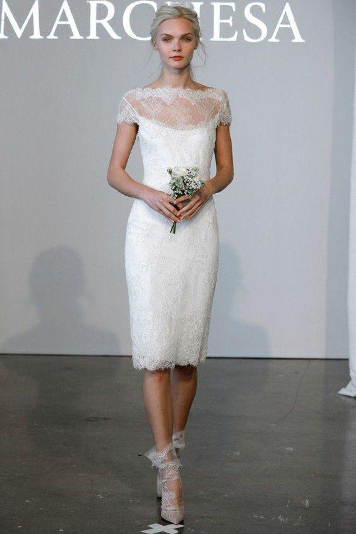 les tendances 2016 chez les robe de mariée simple mais magnifique