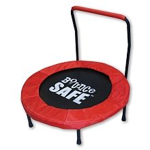 """BounceSafe - 36"""" Springless Trampoline with Handle"""