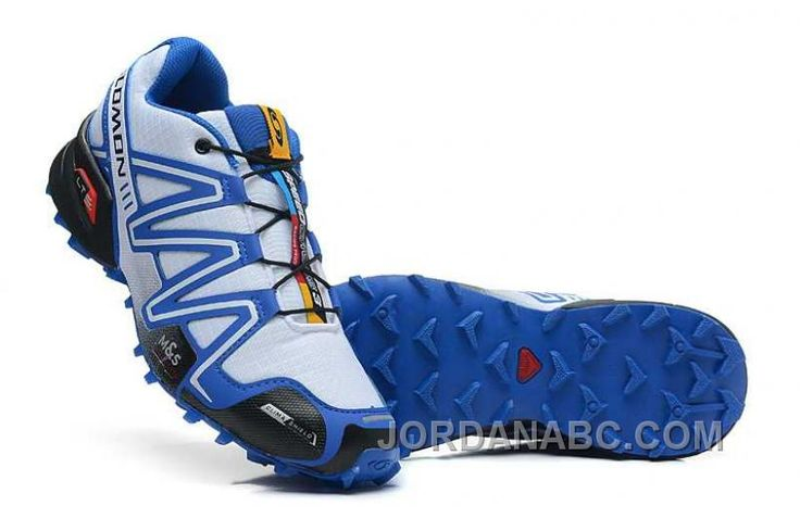 http://www.jordanabc.com/salomon-speedcross-3-cs-mens-white-blue-for-sale.html SALOMON SPEEDCROSS 3 CS MENS WHITE BLUE FOR SALE Only $74.00 , Free Shipping!