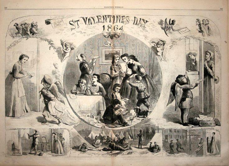 Civil War Valentine's Day 1864