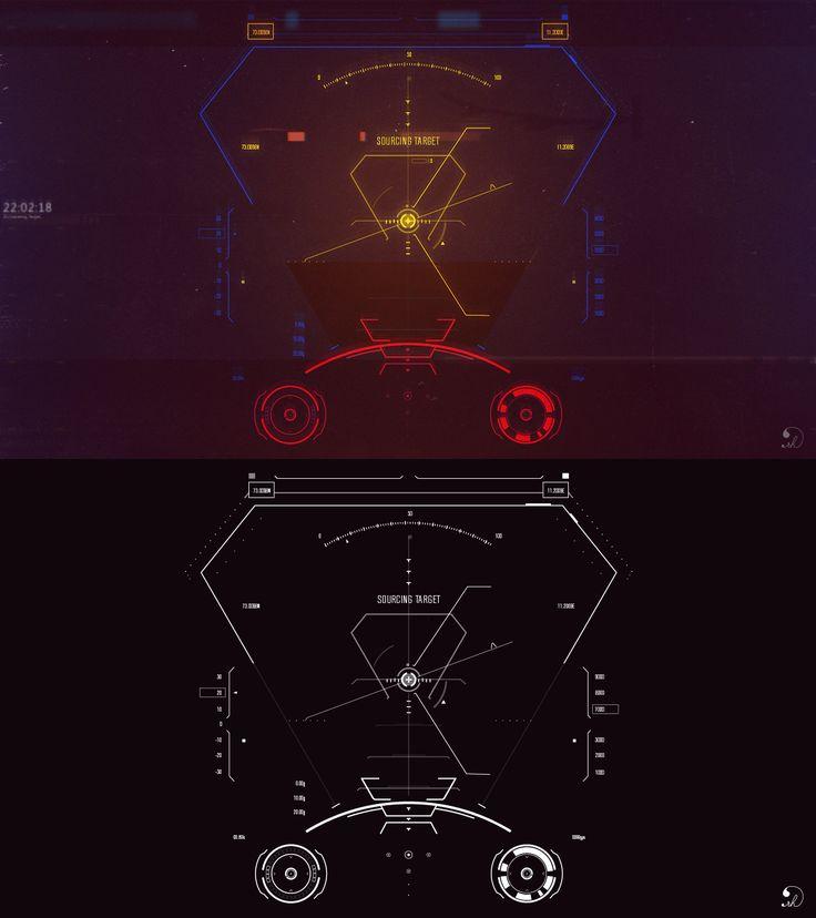 IMAG1NE – UI Design :: jet hud