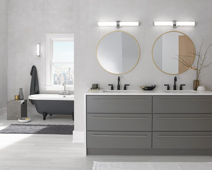 Lynk Bath Vanity Light In 2019: Philipsburg Linear 2-Light LED Bath Bar In 2019