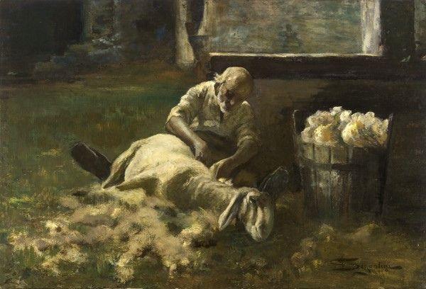 @gemeentemuseum Schaapscheerder van Segantini #collectievissen #vee http://t.co/QXi3CDx3