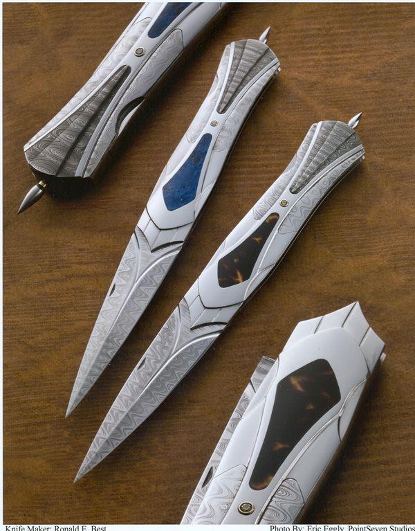 Ron Best Knives, Custom Created Folding Knives