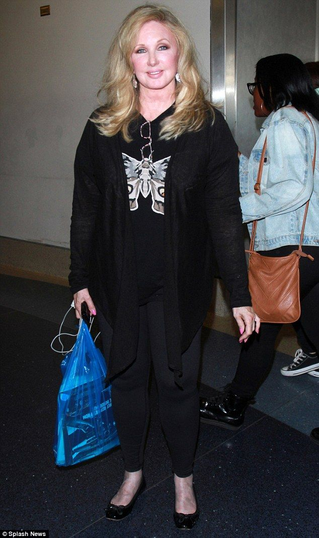 Morgan Fairchild Looks Youthful In Butterfly Top As She