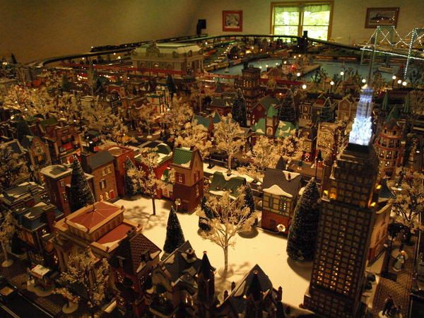 56 Best Christmas Village In The Tree Images On Pinterest