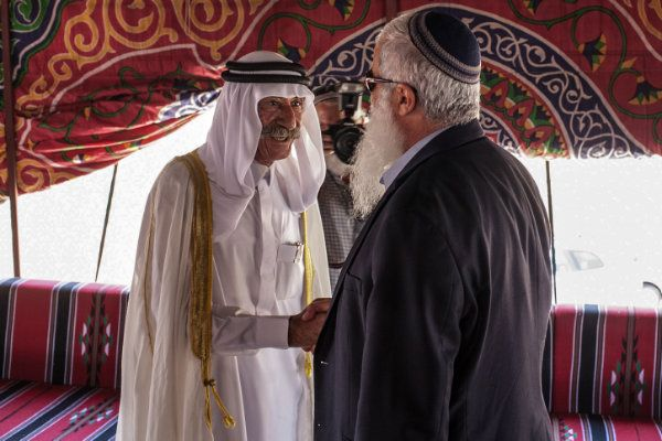 """Jordanian Sheikh: Israel Belongs To The Jews!Posted on 2/20/2014 by Eliyokim Cohen Sheikh Ahmed Aladoan of Amman, a member of Jordan's well-known Adwan tribe, posted to Facebook this week that there is no such place as """"Palestine,"""" and provided references from the Koran to back up his assertion."""