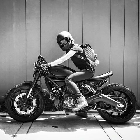 Garv's Mean Machine - Ducati Scrambler  https://www.facebook.com/GarvsMeanMachine. Pinterest - @ivkika