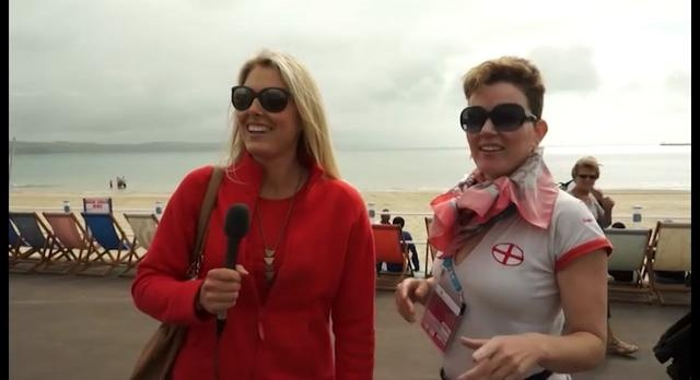 This is great! When Surfing Becomes Sailing by Planet Sport. Our team's surfing expert was excited to go and cover the Olympic Surfing events in Weymouth this weekend. Unfortunately, she and her friend Lizzy quickly found out that surfing is not an Olympic event and that Weymouth was actually hosting sailing. Through trial and error, the girls learn a little bit about sailing through the process.