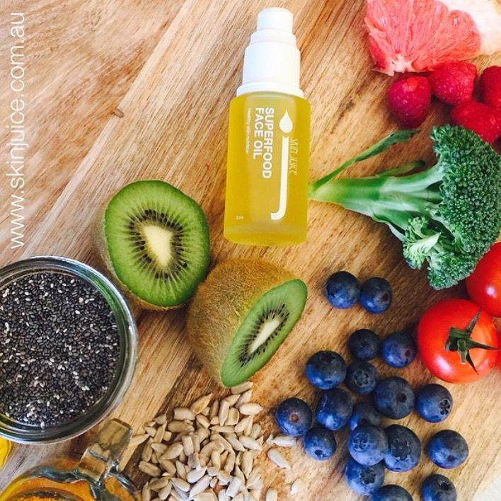 Replace your night cream with Superfood Face Oil to ensure your skin is getting the essential nutrients it needs to help maintain optimum skin health and a youthful glow. This non-greasy, fast absorbing potent mix of 21 nutrients is free from harmful chemicals, nut free and is pregnancy safe! Superfood face oil is 100% skin digestible. Oil-soluble nutrients are fed to the skin to strengthen and repair its essential barrier function.