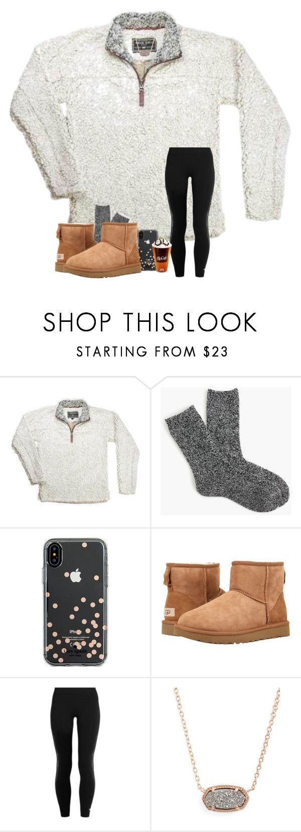 """love being home in Bama <3"" by arieannahicks on Polyvore featuring J.Crew, Kate Spade, UGG, adidas and Kendra Scott"