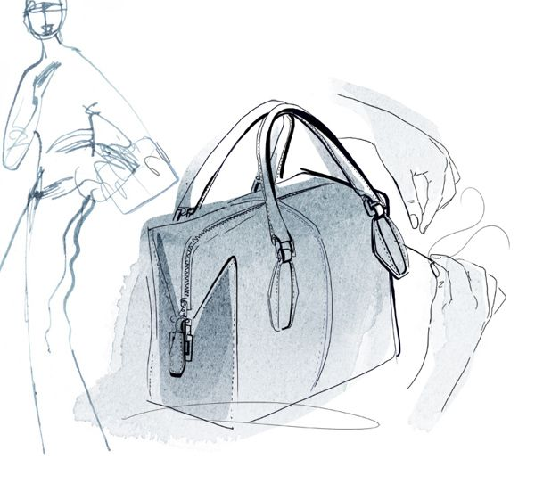 Watercolor Illustrations for Tod's, Diego della Valle on Behance