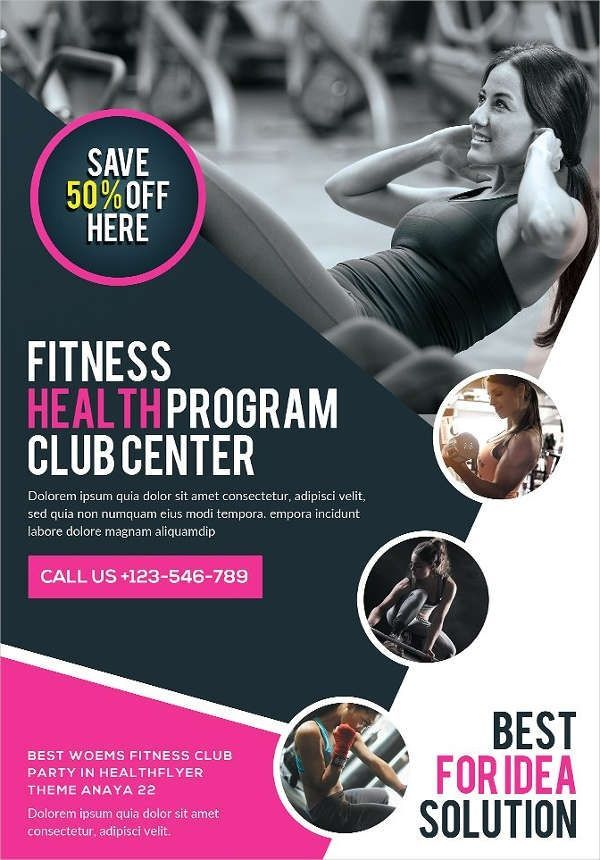 Fitness Poster Vector 58 Fitness Flyer Templates Psd Word Ai Eps Vector Formats Fitness Flyer Workout At Work Flyer