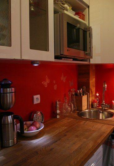 17 meilleures id es propos de petite cuisine quip e sur pinterest cuisine tout quip e. Black Bedroom Furniture Sets. Home Design Ideas
