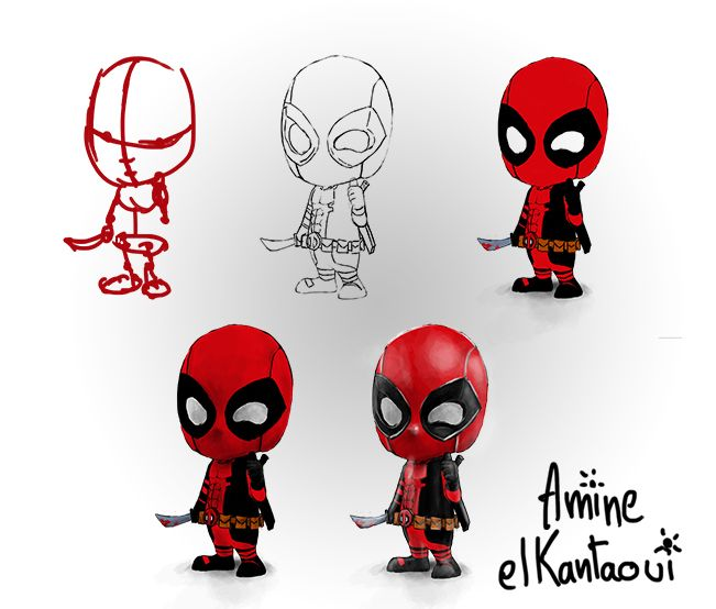 deadpool by amine el kantaoui