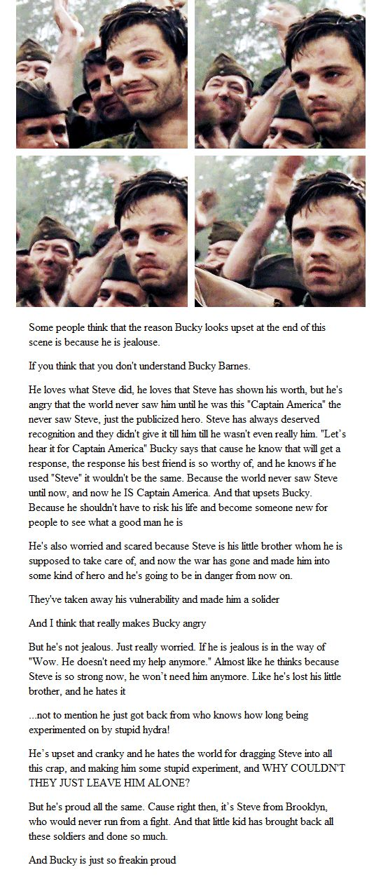 BECAUSE BUCKY IS AWESOME AND IF YOU THINK OTHERWISE YOU. ARE. WRONG.