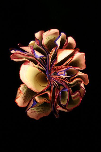 Book artist and photographer Sonia Sawyer makes books blossom.