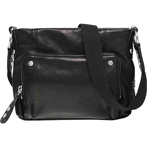 Ellington Handbags Eva Crossbody Black - Ellington Handbags Leather Handbags