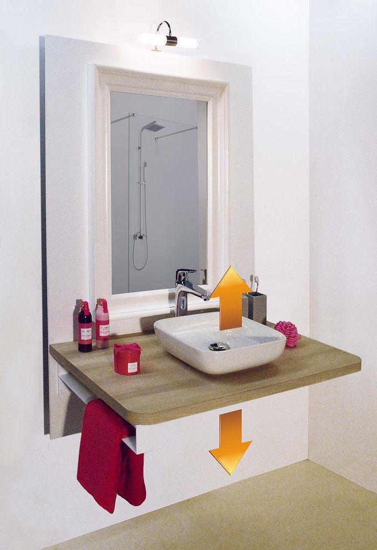 Les 25 meilleures id es concernant salle de bains pour for Salle de bain handicape