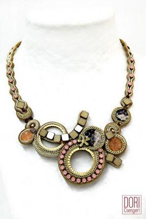 Desert Rose Nude Tones Necklace