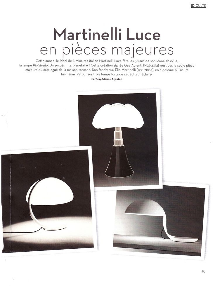 simple ideat special report dedicated to martinelli luce and th of pipistrello http with petite. Black Bedroom Furniture Sets. Home Design Ideas