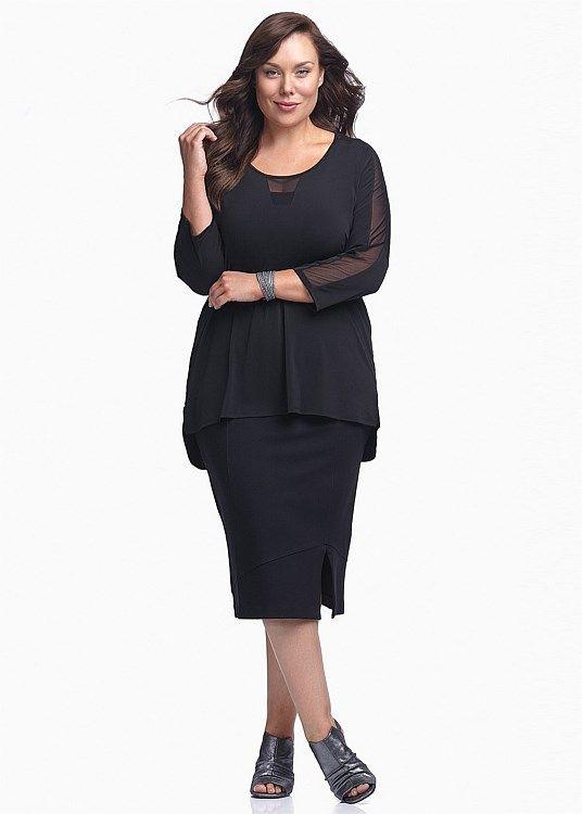 SALE - Plus Size Dresses Online | Taking Shape - CLEAN SLATE TOP