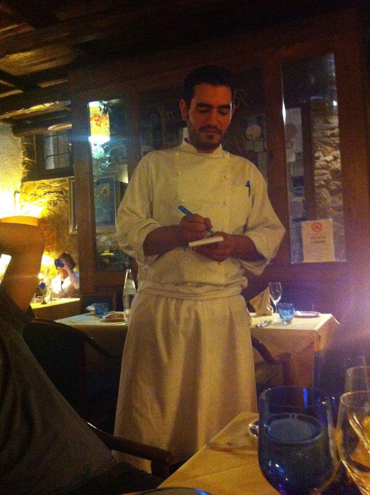 Un siculo a #Spoleto, Michele, chef del ristorante Apollinare.. Come farsi coccolare sapientemente da un esperto
