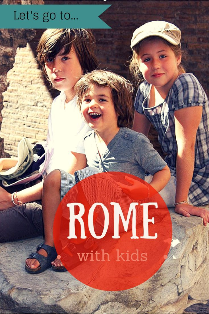 Family travel tips in Rome from an insider mom. http://travel-with-my-kids.com/portfolio/rome-with-kids