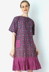 Danar Hadi  Dress Batik Ceplok