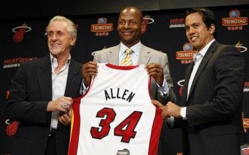 Ray Allen and the Miami Heat