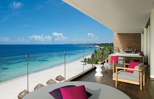 Breathless Riviera Cancun is a vibrant, chic and modern resort located between the breathtaking Caribbean Sea and the Lagoon of Bahia Petempich in the Yucatan Peninsula.
