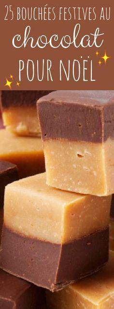 25 bouchées de chocolat pour les fetes