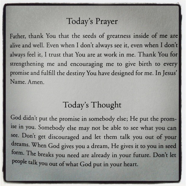 Joel osteen prayers on pinterest big thing god and lakewood church