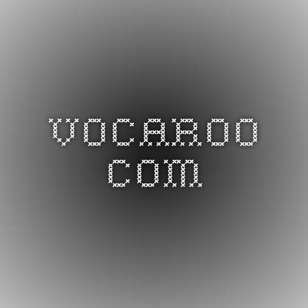 RECORD YOURSELF with VOCAROO - http://vocaroo.com/