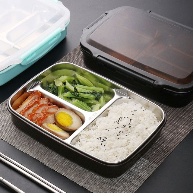 Tuuth Stainless Steel Lunch Box Large