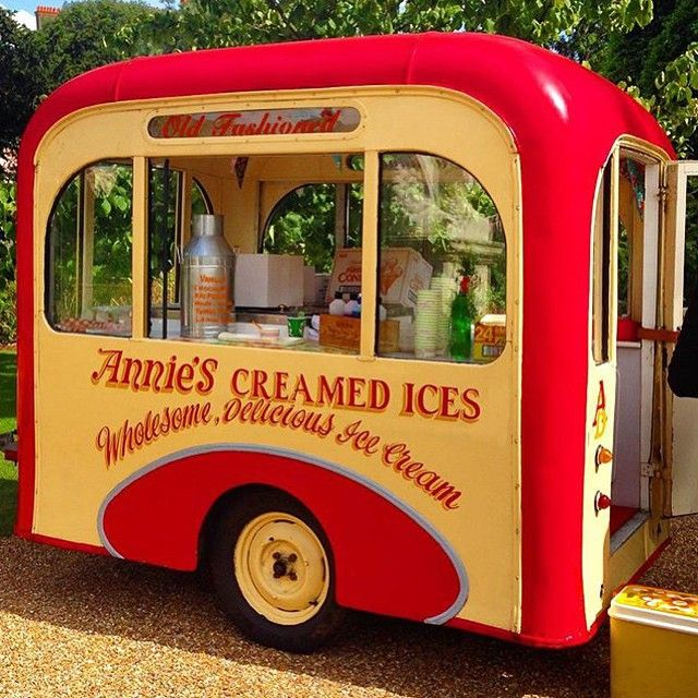 We Love The Little Boxy Caravans That Have Converted Into Ice Cream Vans You See Dotted Around UK