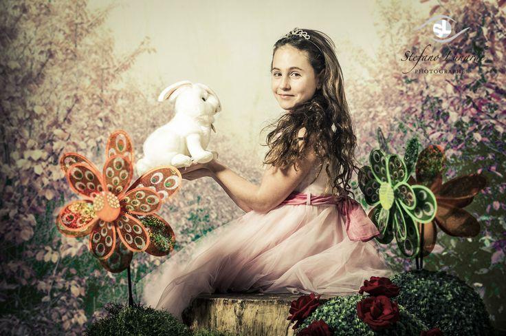 Stefania as Alice in wonderland