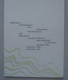 Marlies Louwes – Ivor Cutler, The river bends