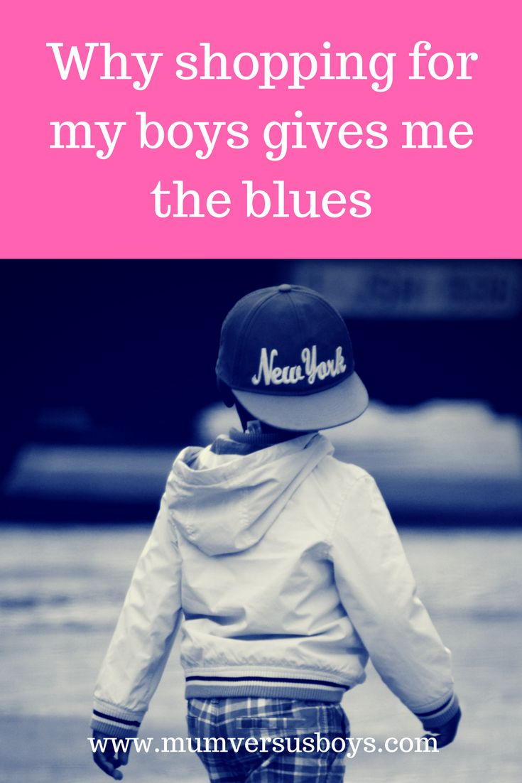 I love to shop. I love shopping for my boys. What drives me crazy is finding boys clothes that reflect their colourful personalities. Where do you find your children's clothes and what are your bugbears? http://mumversusboys.com/why-shopping-for-my-boys-gives-me-the-blues