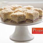 ŁABĘDZI PUCH - najlepszy przepis na ciasto na komunie. Cudownie lekkie i jasne ciasto idealnie pasuje na specjalne okazje.