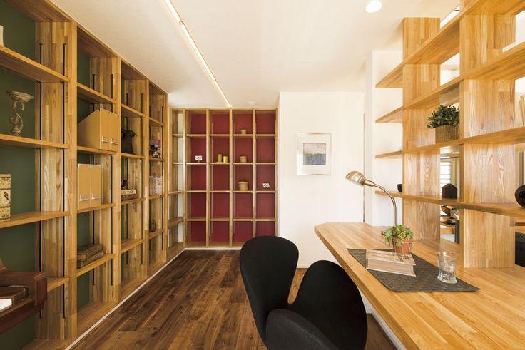 【家族の書斎がある家】つくば市 R+house(アール・プラス・ハウス) 株式会社カイテキホーム