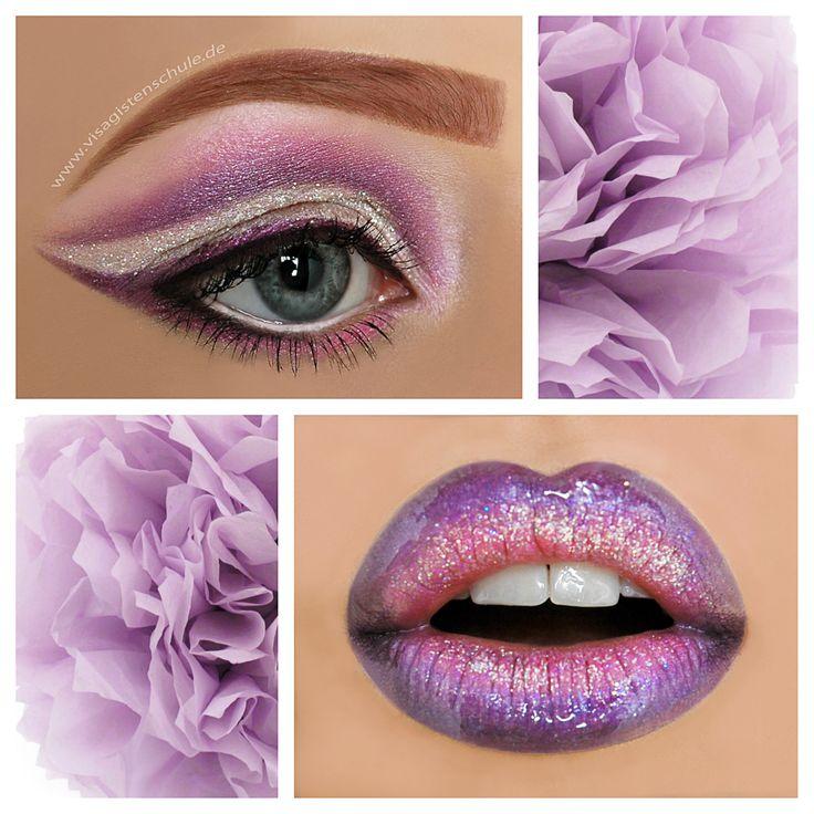 Lavender Tenderness  Eyes/ Lips: Absolventin Alexandra Lederer Foto: MAF - Make-up Artist Factory  Informiere Dich auch über die Ausbildung zum Make-up Artist bei uns: http://visagistenschule.de